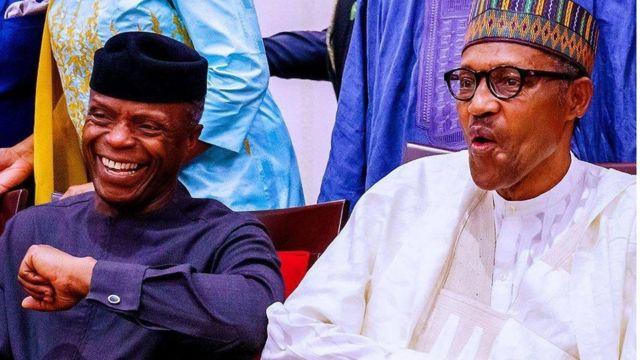 President Muhammadu Buhari and Vice-President Yemi Osinbajo