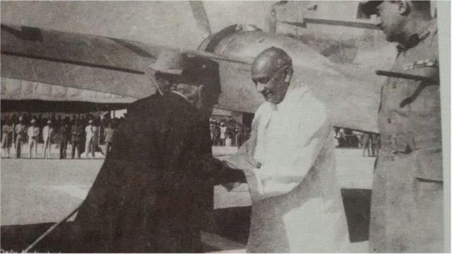 হায়দ্রাবাদের পতনের পর সর্দার প্যাটেল এবং মীর ওসমান আলী খান
