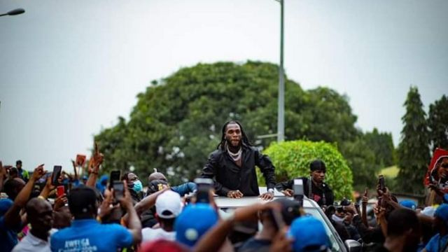 [Burna Boy homecoming] pictures