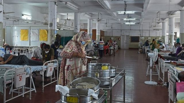 Hospital na Índia