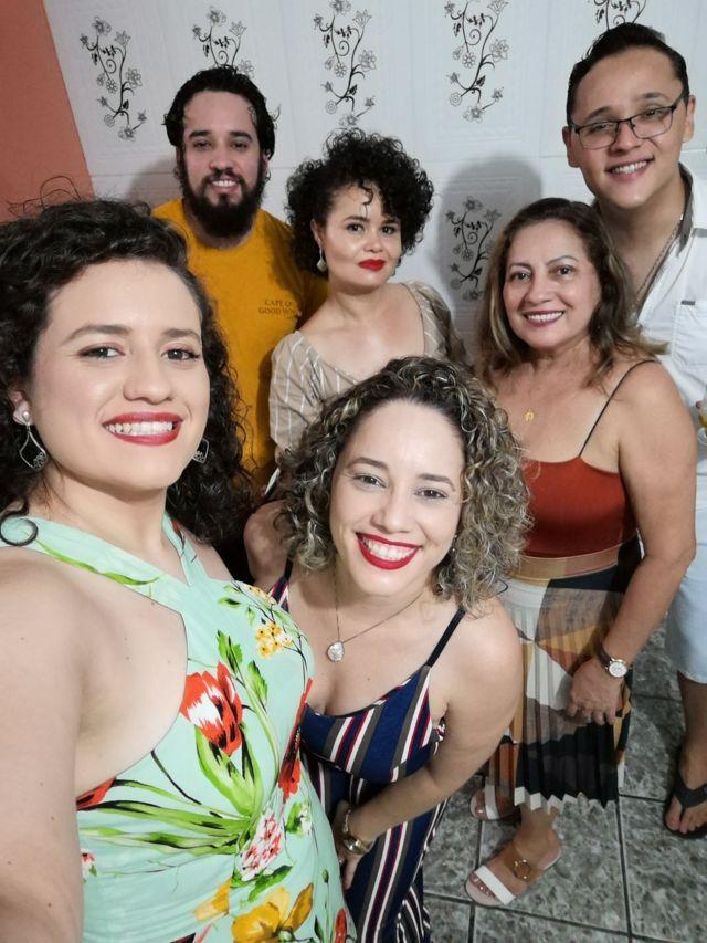 Nilton Barreto dos Santos e amigos
