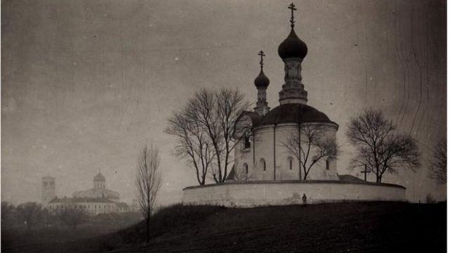 Василівська ротонда в Володимирі-Волинському близько 1917 року