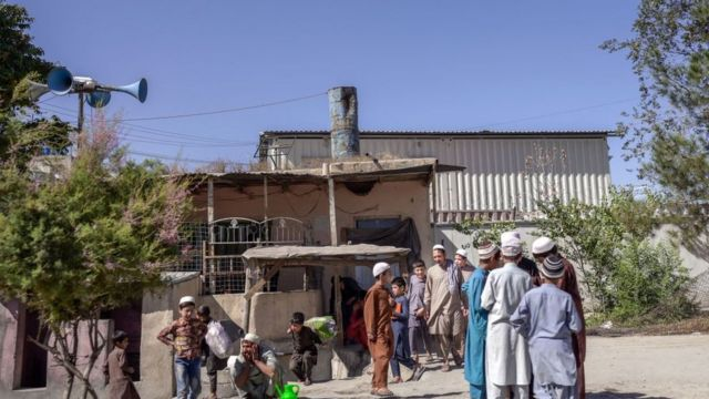 Escuela para niños en Kabul, 16 de septiembre de 2021.
