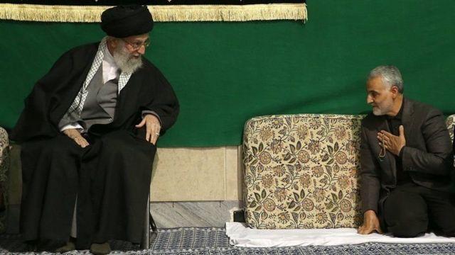 Qasem wuxuu aad ugu dhawaa hogaamiyaha Iran