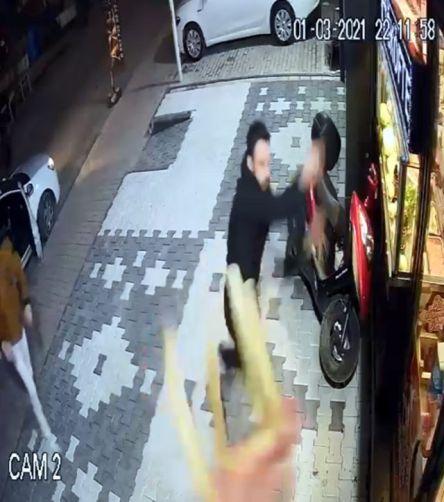 H.Ş. ve beraberinde dükkana gelen iki kişi de gözaltına alındı.