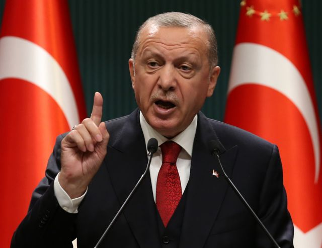 Erdogan assured his support for Azerbaijan with all means