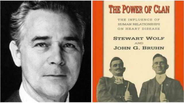 Stewart Wolf (1914-2005) and the cover of his book