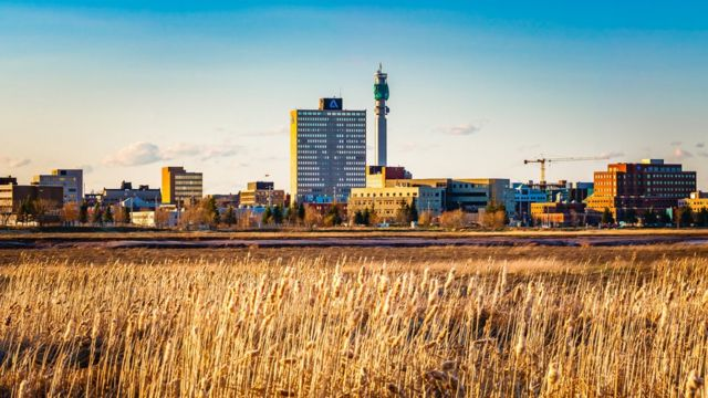 Moncton is the largest city in the province