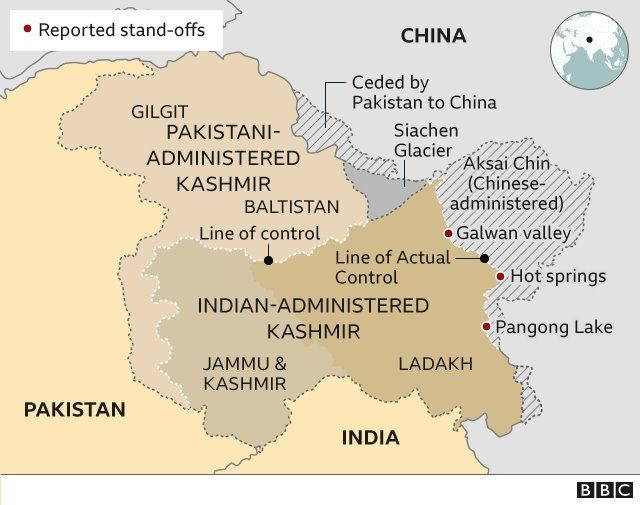 China-India border: Why tensions are rising between the neighbours ...