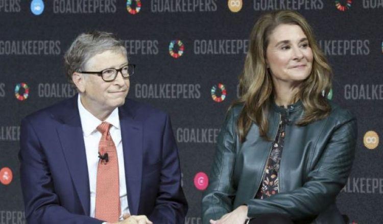Bill y Melinda Gates, en 2018.