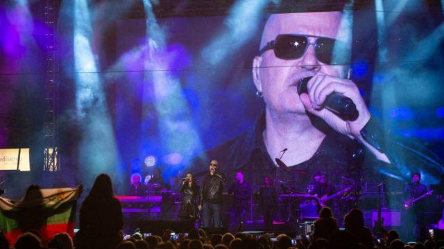 Слави Трифонов на концерте в 2016 году