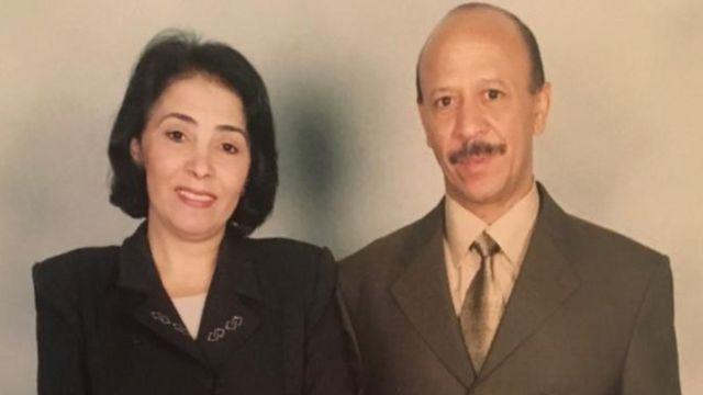 والد ليبيا ووالدتها