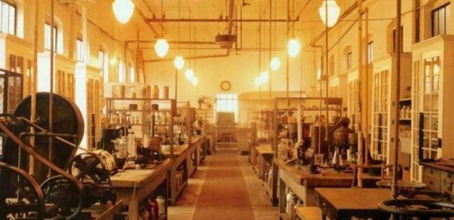 Le laboratoire d'Edison, dans le New Jersey