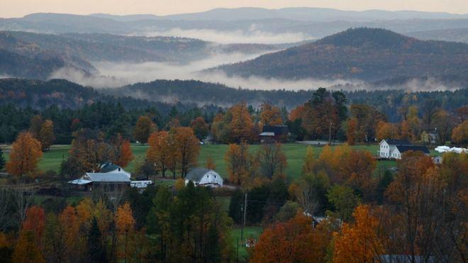 Otoño en Vermont.