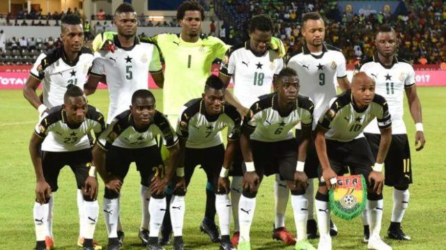Image result for black stars squad for afcon 2019