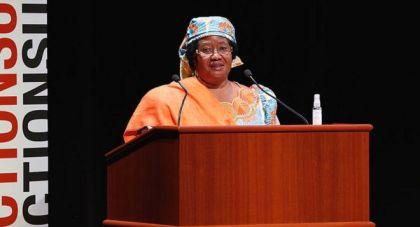 Joyce Banda est à la fois la première femme Vice-présidente puis présidente du Malawi.