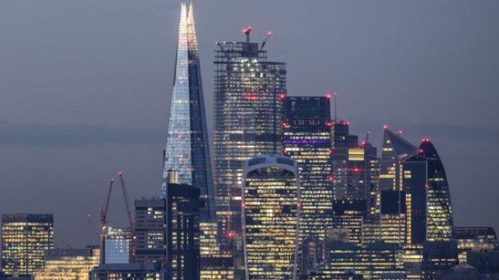 Londra gökdelenler