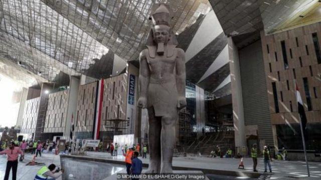 Bảo Tàng Lớn Ai Cập rất được mong đợi của Cairo dự kiến khai trương trong năm nay.