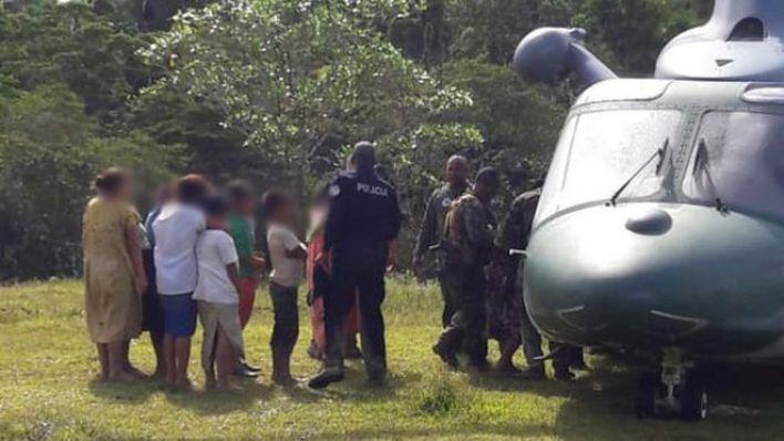 Polis Ngäbe-Buglé bölgesindeki şüphelileri gözaltına aldı