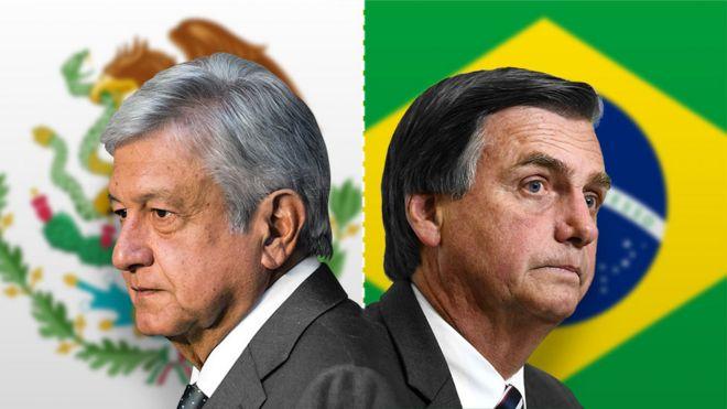 Resultado de imagen para bolsonaro y AMLO