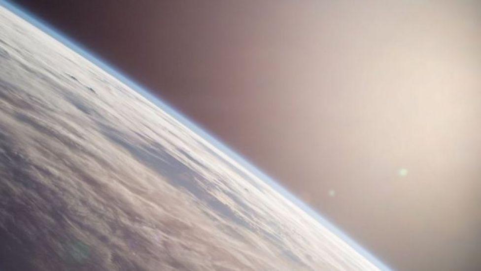 Imagem da Terra feita pelo astronauta Terry Virts