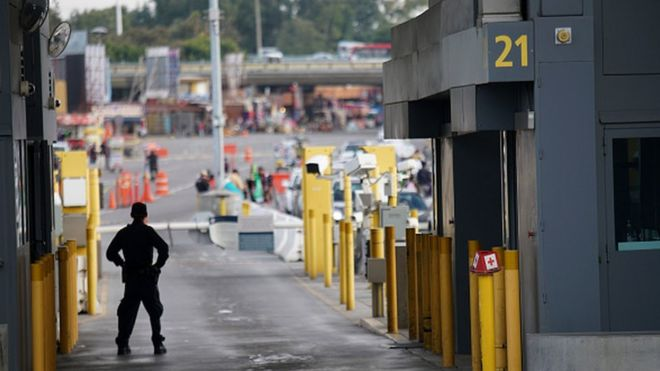 Control de frontera de Estados Unidos con México