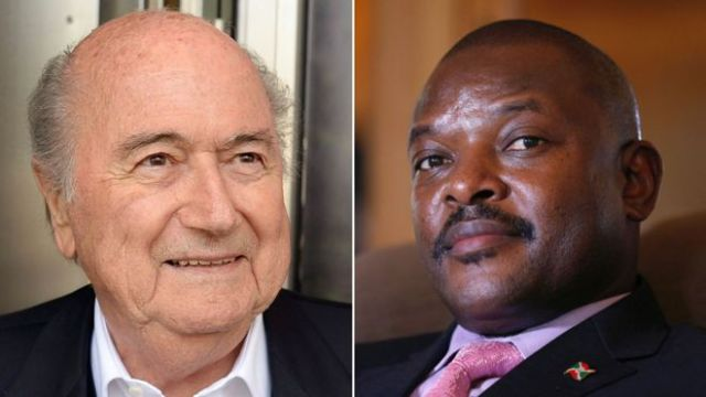 SEPP BLATTER OFFERED FIFA ROLE TO BURUNDI PRESIDENT