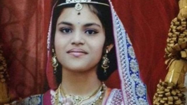 A child has to go through this in name of Religion-13 yr old #Jaingirl dies in #Hyderabad after fasting for 68 days.