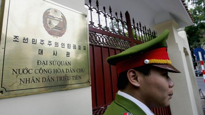 Đại sứ quán Bắc Hàn ở Hà Nội