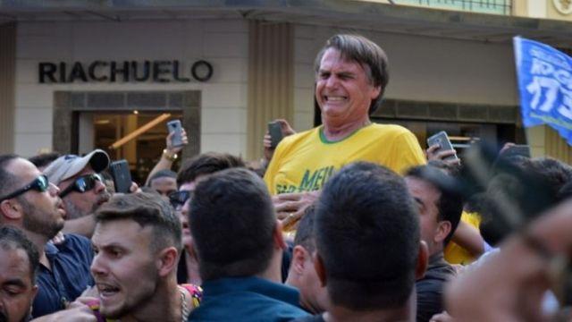 Image result for brazil president candidate stabbed