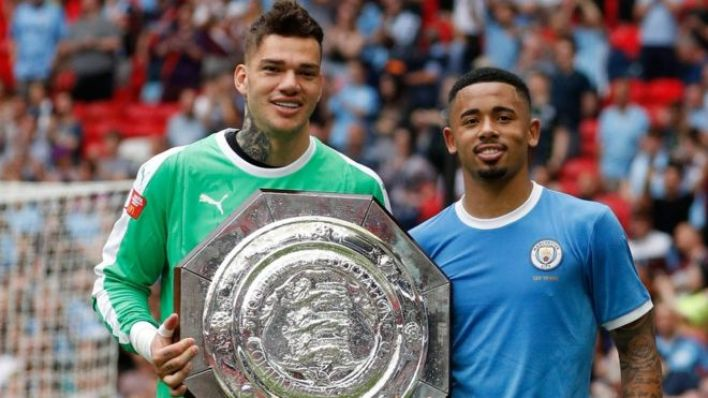 Ederson and Gabriel Jesus