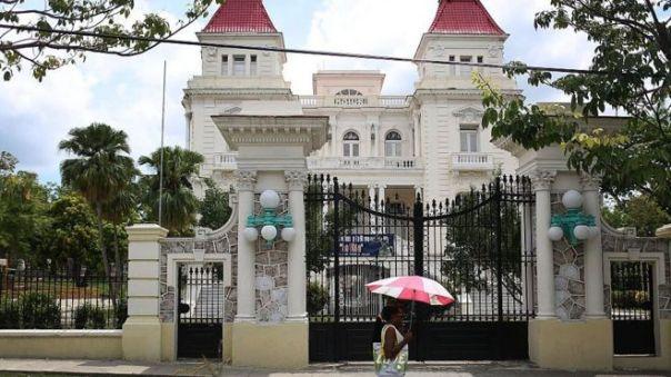 Casa de los Bacardi en Cuba