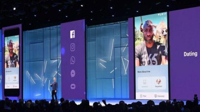 Presentación de Facebook Dating.