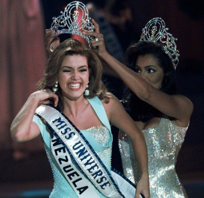 "Image result for Former ""Miss Universe"" Alicia Machado"