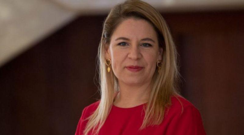 """Revista """"Fortune"""". Claudia Dobles, primera dama de Costa Rica, única latina entre los 50 líderes más importantes del mundo"""