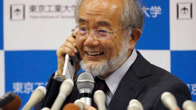 Yoshinori Ohsumi ganó en 2016 el premio Nobel por su investigación sobre la autofagia.
