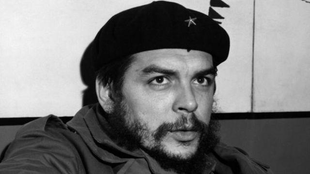 Guevara con su emblemática boina