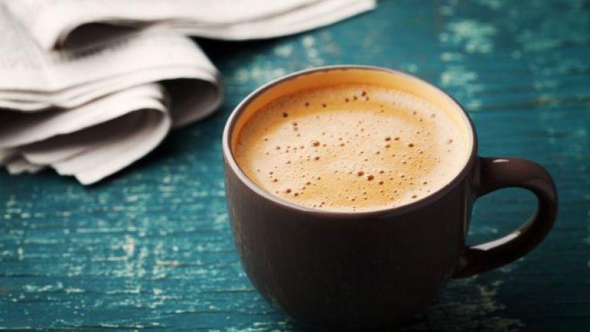 kahve ve gazete