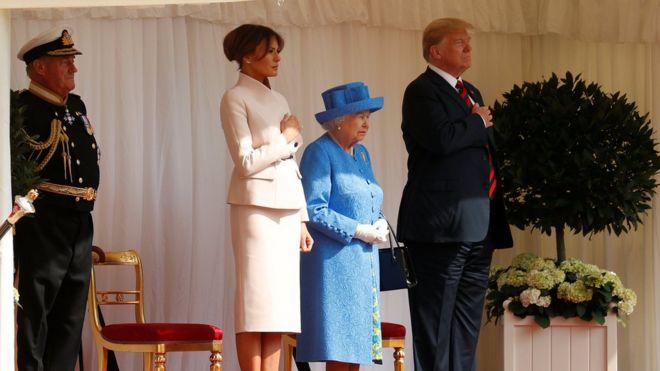 Image result for President Trump visit UK England
