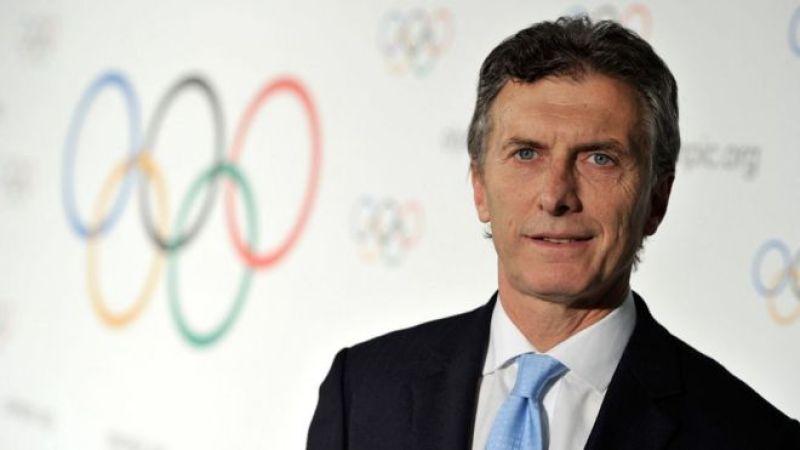 Hoy es presidente. Pero en 2013 Mauricio Macri era alcalde y estaba impulsando la candidatura de Buenos Aires para ser sede de los Olímpicos de la Juventud.