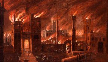 Pintura del Gran Incendio