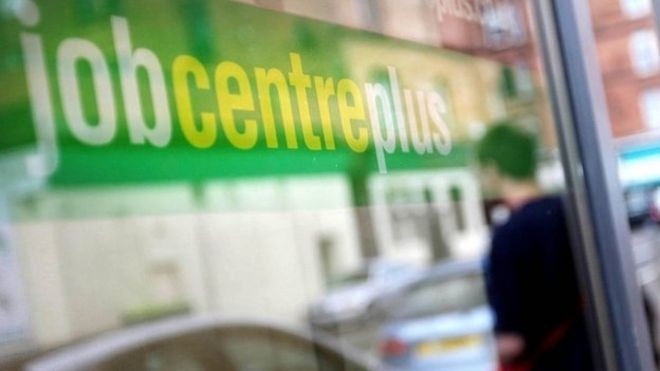 Jobcentre Plus office in Glasgow