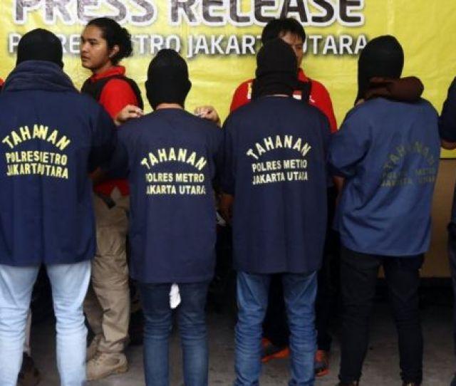 Indonesian Police Arrest  Men Over Gay Sex Party
