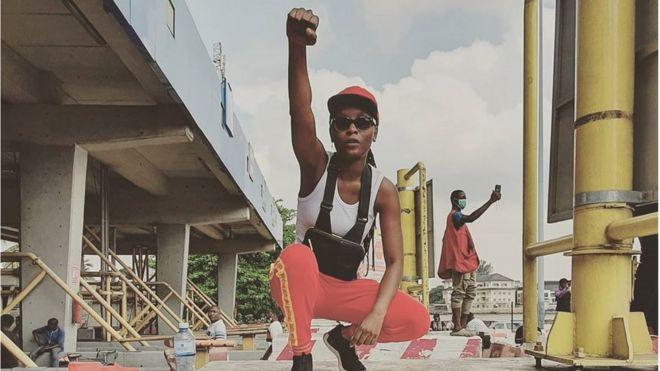 Lekki Toll Gate Lagos - Protest on February 13
