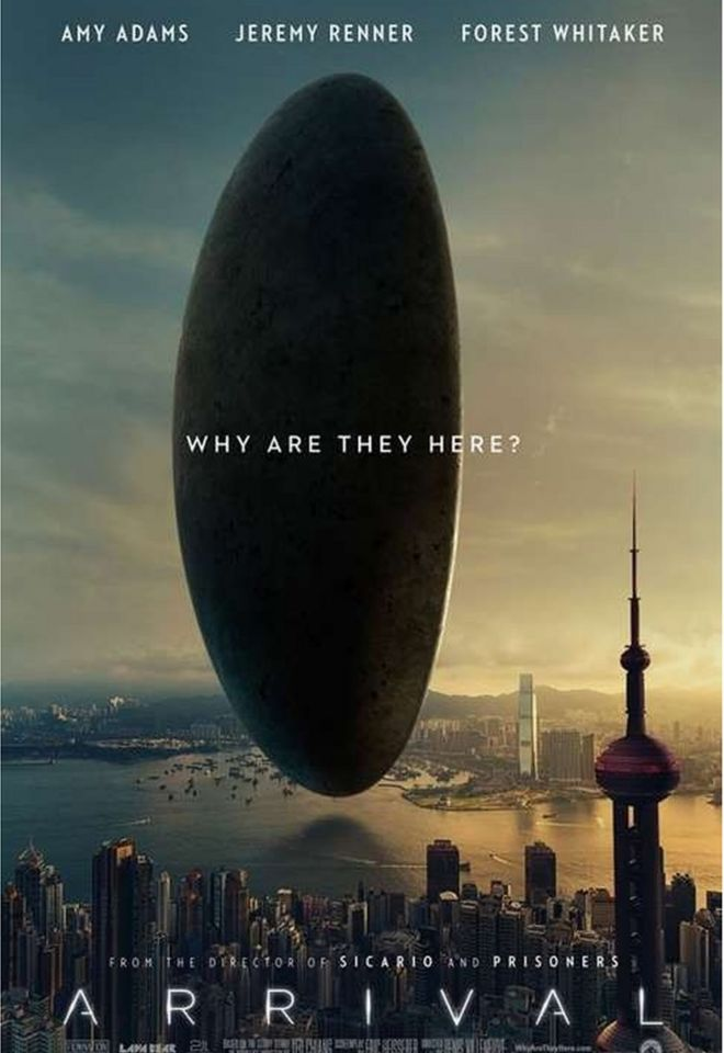 Image result for arrival poster