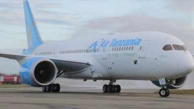 Air Tanzania aircraft