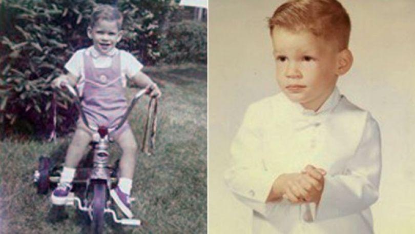 Paul quando criança