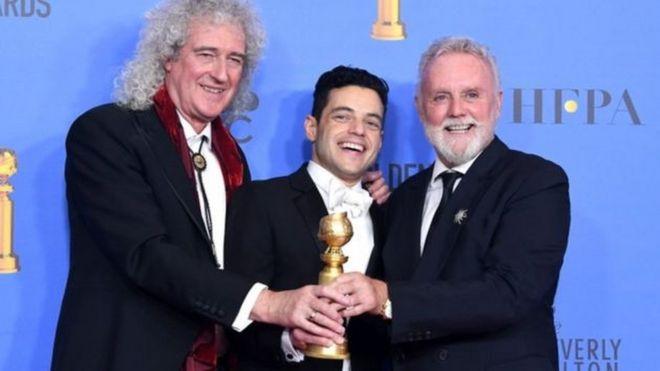 الممثل رامي مالك يحقق مفاجأة ويفوز بجائزة غولدن غلوب Bbc