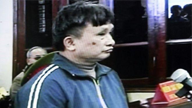 Ông Trần Anh Kim tại phiên tòa năm 2009