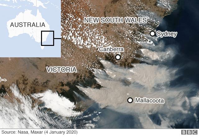衛星画像2020年1月4日